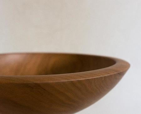 Andrew Pearce Large Bowl - Cherry Wood
