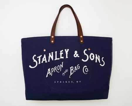 Apron & Bag Logo Tote - Navy