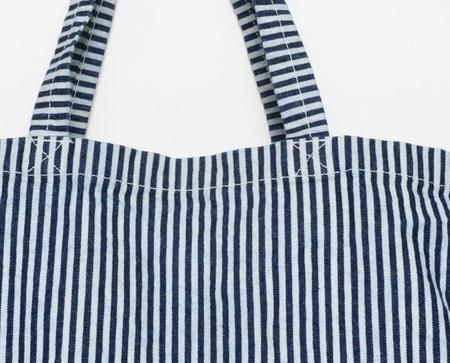 Apron & Bag Market Tote - Hickory Stripe