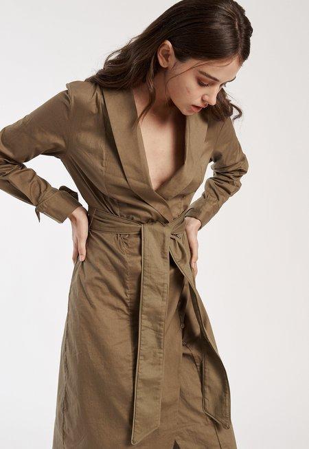 C/MEO Shirt Dress - Taupe