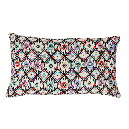 "Archive New York Nahuala II Pillow - Mint 12""x20"""
