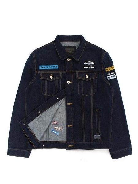 Zplish Patch Denim Jacket - Black