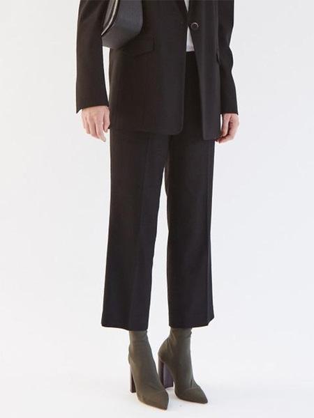 GABRIEL LEE Basic Trousers - Black