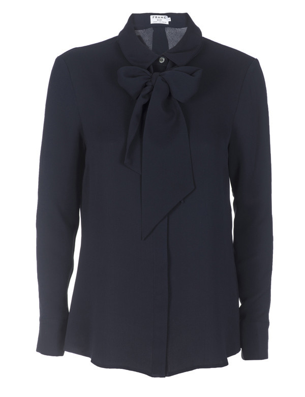 FRAME Denim LE BOW TIE SHIRT