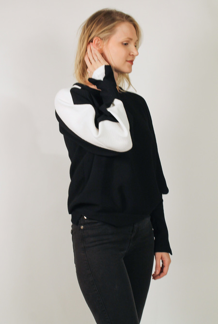 Rachel Comey Convene Top - Black/White