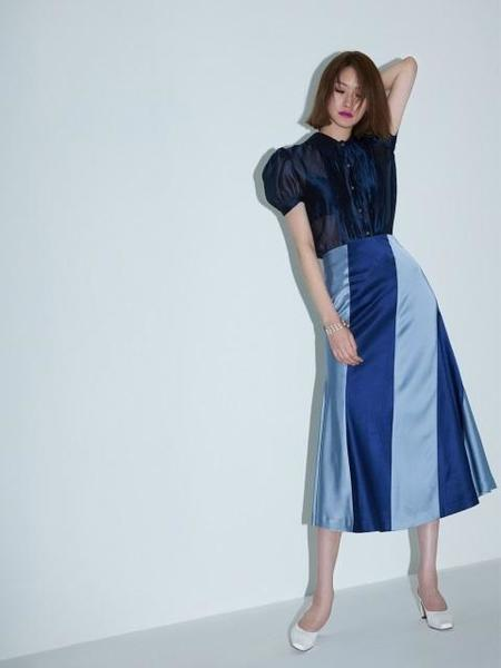 FAYEWOO Duchess Stripe Skirt