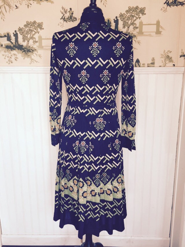Japanese Jonathan Logan 70's dress in size small