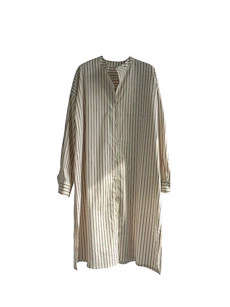 Cereal Signature Shirt Dress - Ivory