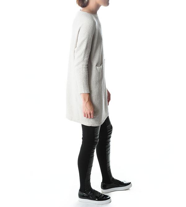 Lauren Manoogian Chalk Knit Trapezoid Dress