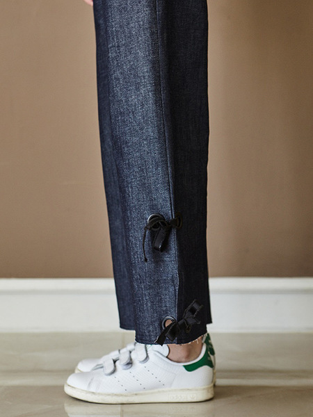 INES wide pants - DENIM