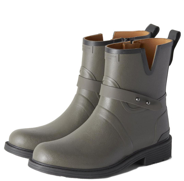 Rag & Bone Moto Rain Boot in Smoke