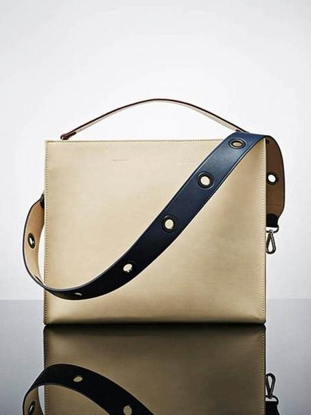 Find Kapoor Le Monde Square Bag Line Set - Ivory