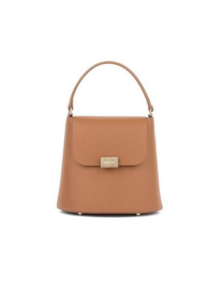 BIKER STARLET Noelle Small Easy Label Bag - Tan Brown