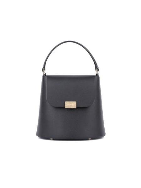 BIKER STARLET Noelle Small Easy Label Bag - Black
