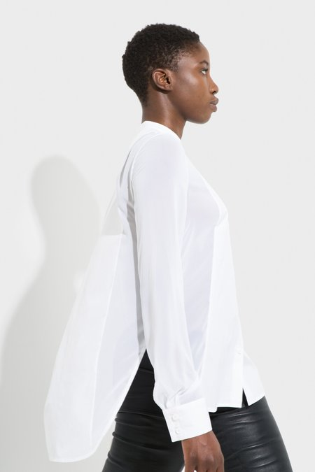 Another Garde Lou Button Up White