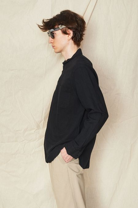 Our Legacy Shawl Zip Shirt - Black