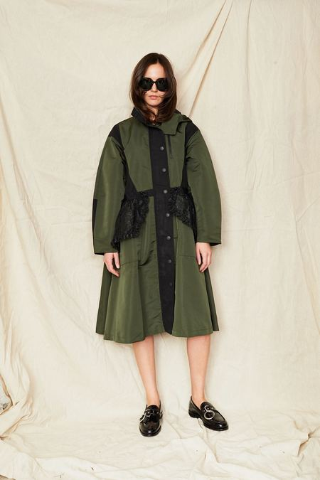 Sandy Liang Turner Anorak - Olive