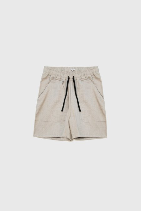 COMMONERS Patch Pocket Walk Short - Natural
