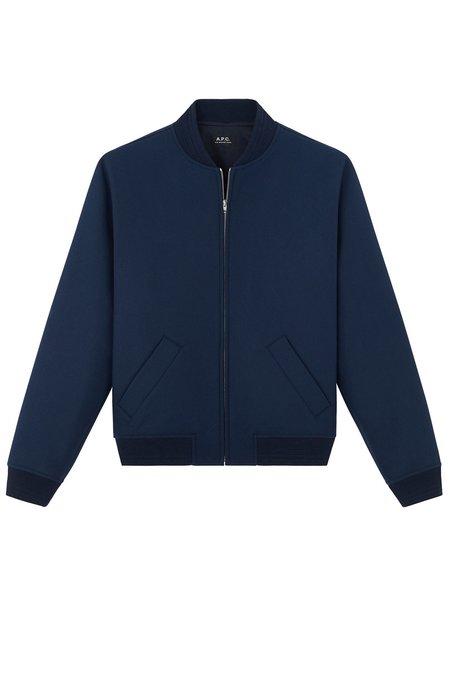 A.P.C. Gaston Jacket - Bleu Fonce