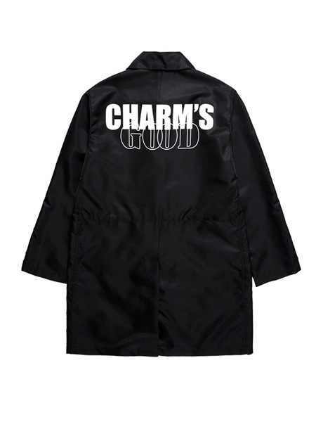 CHARMS Cg Logo Coat - Black