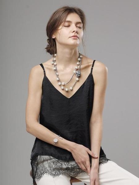 Atelier901 Twinkle Long Necklace - Silver
