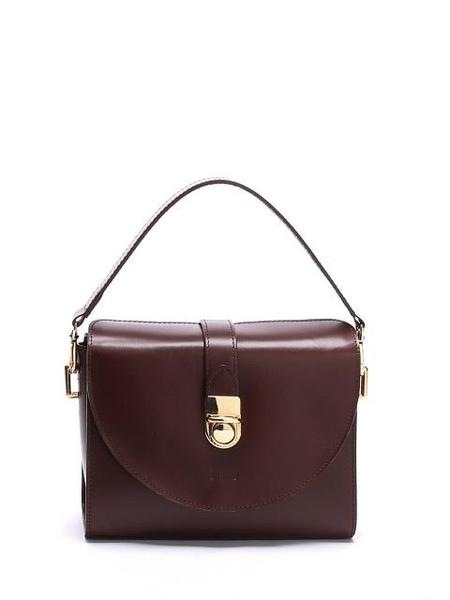 Vintage DESMAMAN Pent Bag - Burgundy