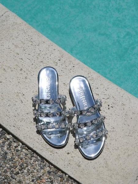 BIBINIQUE Rozy Sandals - Silver