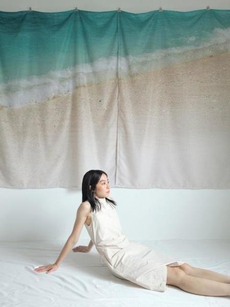 HALOMINIUM Vest String Dress - Sand