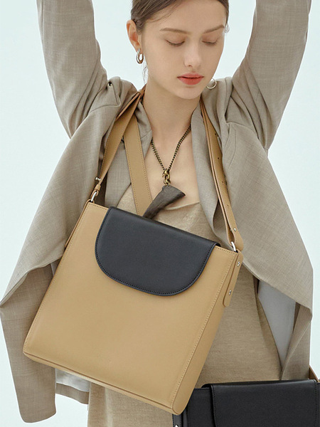 ELBATEGEV Elba Bag - Sand/Black Currant