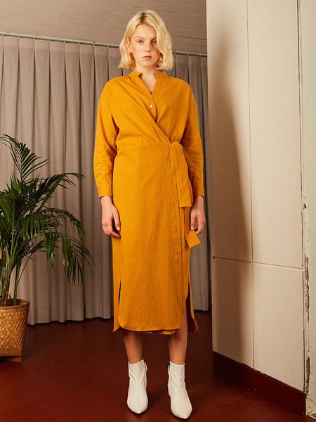 COTTA Elin Dress - Mustard
