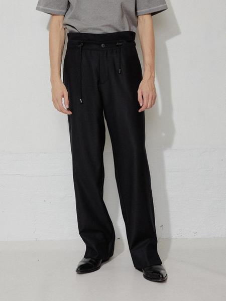 L'Homme Rouge Hike Suit Pants - Black