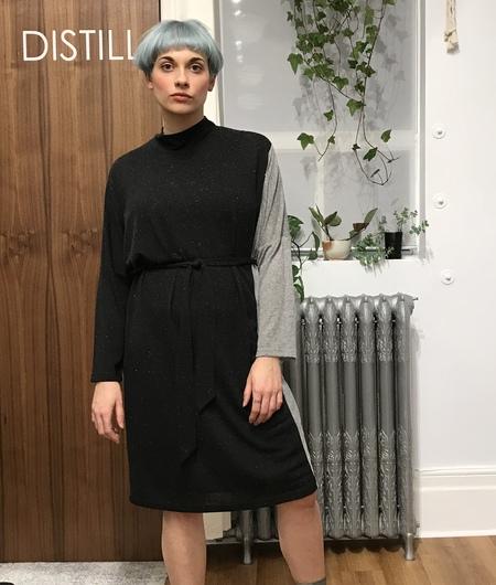 Eve Gravel Night Train Dress - black/grey