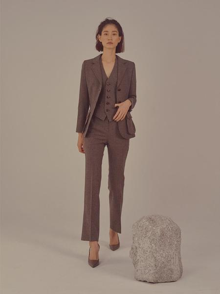 FAYEWOO Anthony Suit Pants - Gray