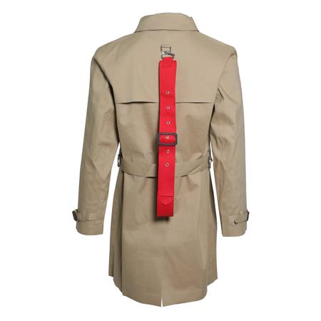 Matthew Miller Carter Trench Coat - CAMEL