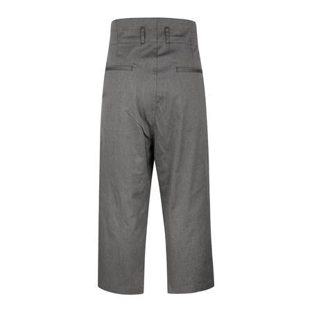 Sasquatchfabrix. High Waist Work Pants - Ash Charcoal