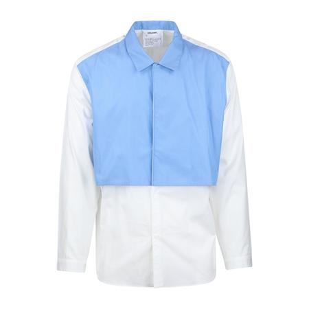 Digawel Layered Shirt - WHITE