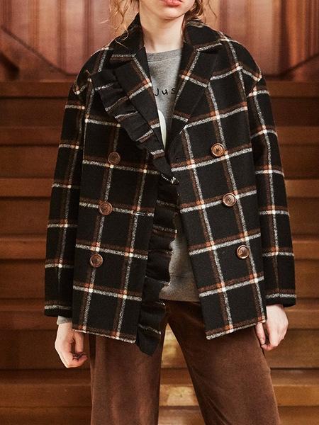 INES Frill point jacket