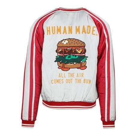 Human Made Reversible Burger Yokosuka Jacket - RED