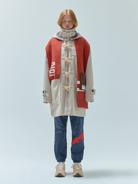 5252 BY O!OI Original Duffle Coat - Ivory