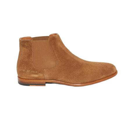 Robert Geller x Common Projects Chelsea Boots - TAUPE