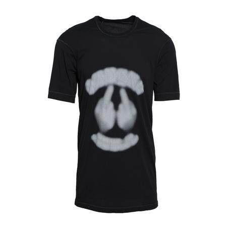 11 by Boris Bidjan Saberi Frosted T-Shirt - BLACK DYE