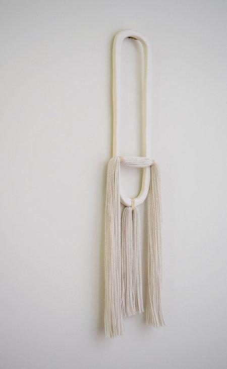 Karen Gayle Tinney Wall Hanging #509 - White