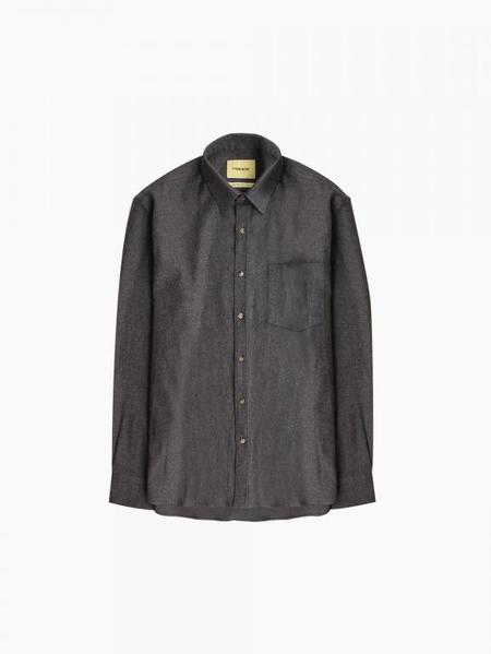 De Bonne Facture Essential Shirt - Dark Grey