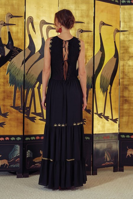 Carolina K Angel Dress - Night Lights Black