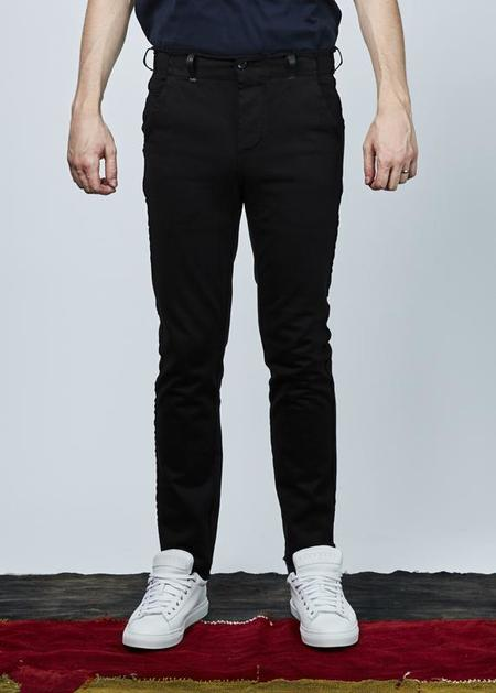 Hannes Roether Trade Cotton Pant - black