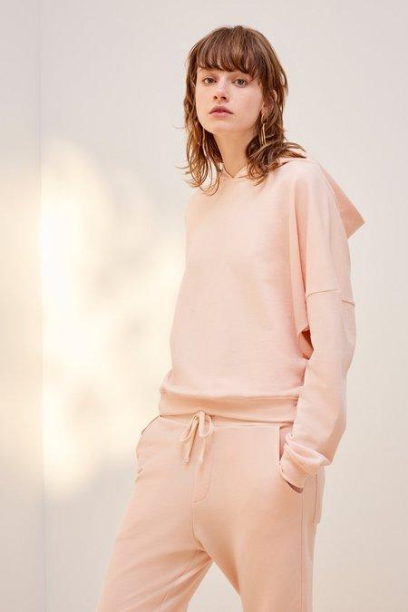 Kowtow Building Block Hooded Sweater - Light Pink