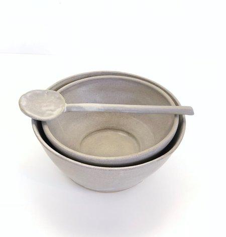 Beanpole Pottery Bowl Set - Satin Gray