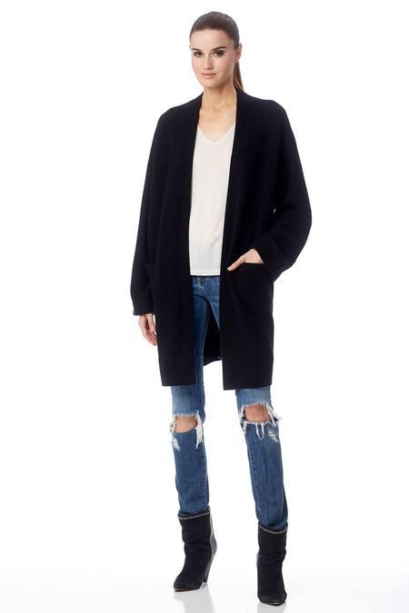 Skull Cashmere Dia Sweater - Black