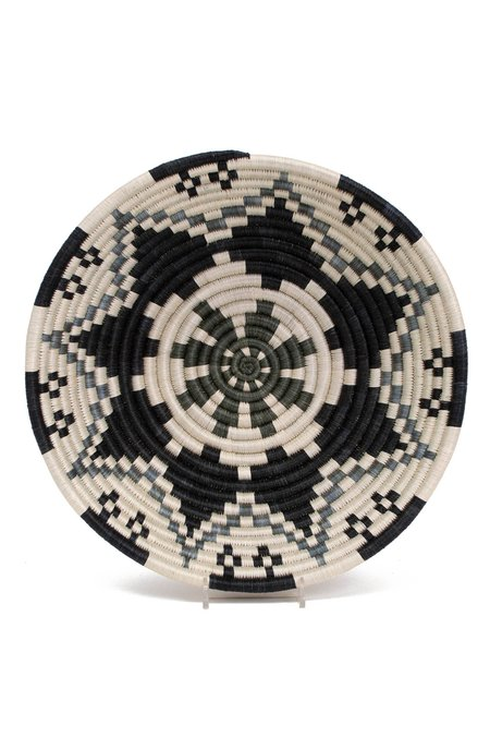 All Across Africa Large Hope Basket - Gray