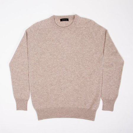 Unis Lambswool Crew Sweater - Cobble